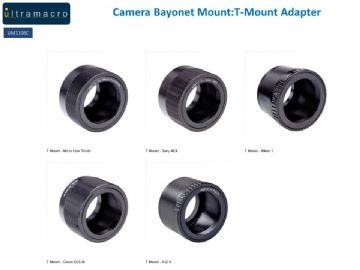 Camera Bayonet Mount:T-Mount Adapter Type 2 for T-Mount Adapters